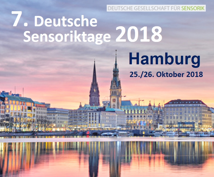 6. Deutsche Sensoriktage 28./29. September 2017